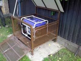 для обеспечения резервным электропитанием загородного дома использован бензогенератор Odwerk GG7200E