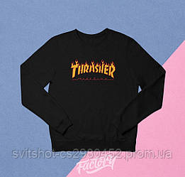 Реглан Thrasher черный
