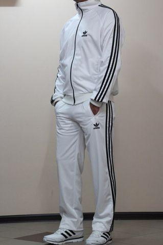 Спортивный костюм Adidas белый - Интернет-магазин Sport-Style в Харькове c732cbd7e07