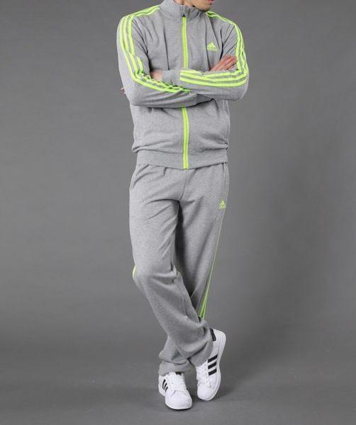 Спортивный костюм Adidas с салатовыми лампасами - Интернет-магазин Sport- Style в Харькове 0b2e97428eb