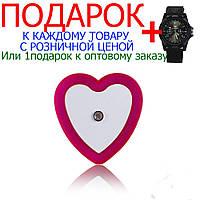 Светодиодный ночник Led с датчиком света  Розовый
