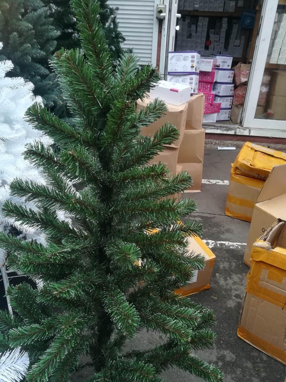 Новогодняя Елка ПВХ Смерека 1.80 м +в подарок крепление