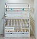 Детская кроватка Домик двухэтажная S, фото 3