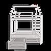 Детская кроватка Домик двухэтажная S