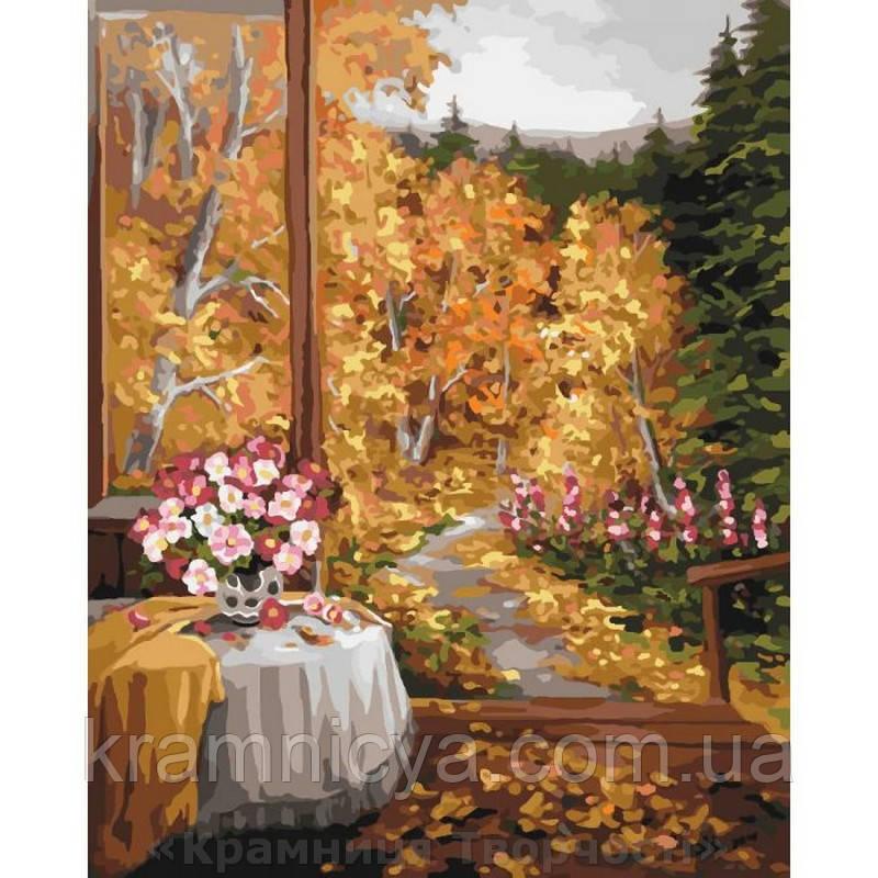 Картина по номерам 40х50 Волшебный запах осени (КНО2242)