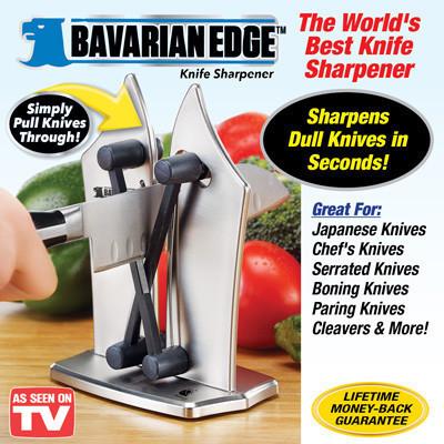 Ножеточка, точилка для ножей Bavarian Edge Knife Sharpener настольная, фото 1