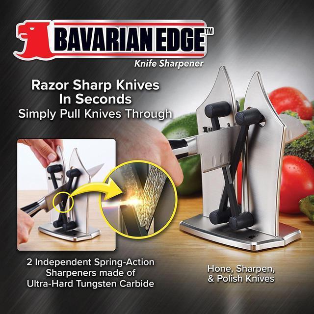 Ножеточка, точилка для ножей Bavarian Edge Knife Sharpener настольная, фото 4