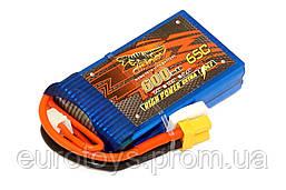 Аккумулятор Dinogy Li-Pol 600mAh 7.4V 2S 65C XT30 53x30x13мм