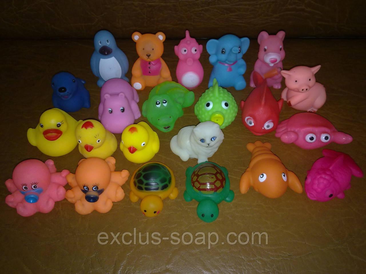 Игрушки для вплавки в мыло!