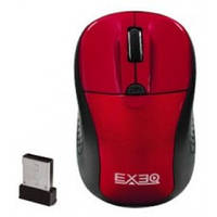 Мышь беспроводная игровая EXEQ MM-405 (красная) USB/800-1600 DPI/3 кнопки