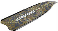 Карбоновые лопасти для ласт Cressi Sub Gara Modular; камуфляж (штука)
