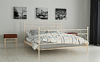 Металлическая кровать Бриана 120х190 см. Мадера, фото 1