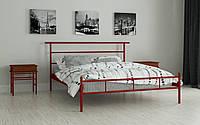 Металлическая кровать Диаз 80х190 см. Мадера, фото 1
