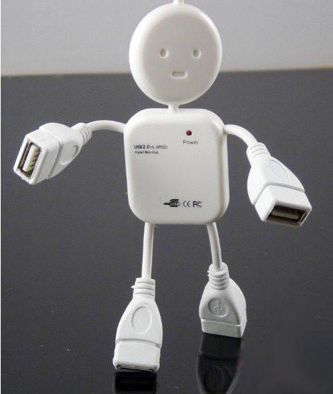 USB Хаб Hub SY-H001 4 порта человек