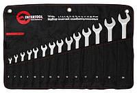 Набор комбинированных ключей 14 шт 6-24 мм Intertool  XT-1004
