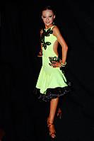 Платье для бальных танцев (латина - юниоры 2, молодежь)