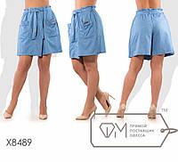 7198f26f43f Летние женские джинсовые юбка-шорты в больших размерах fmх8489