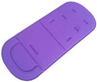 Универсальный детский матрасик (вкладыш) в коляску для малышей (Фиолетовый)
