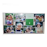 Коллаж для фото (рамки для фотографий на стену) металл.4/10х15,4/15х10см.
