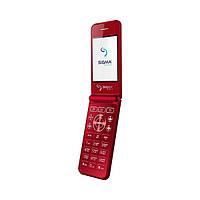 Мобильный телефон Sigma mobile X-Style 28 Flip Red (4827798524633)
