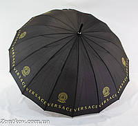 """Однотонный зонтик-трость """"brand"""" на 16 карбоновых спиц от фирмы """"MAX""""."""