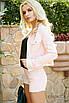 Джинсовый женский костюм шорты и жакет 31st683, фото 2
