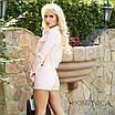 Джинсовый женский костюм шорты и жакет 31st683, фото 3