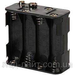 Батарейный отсек АА (R6)*8шт (10-12В)