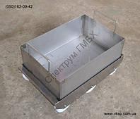 Нержавеющий ящик 600х400х200