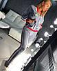 Стрейчевый женский спортивный костюм с лампасами 18rt404, фото 3