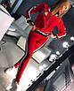 Стрейчевый женский спортивный костюм с лампасами 18rt404, фото 4