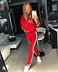 Стрейчевый женский спортивный костюм с лампасами 18rt404, фото 5