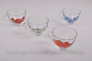 Чашка стеклянная 150мл. 1416