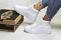 Женские зимние кроссовки белые Vans 6790