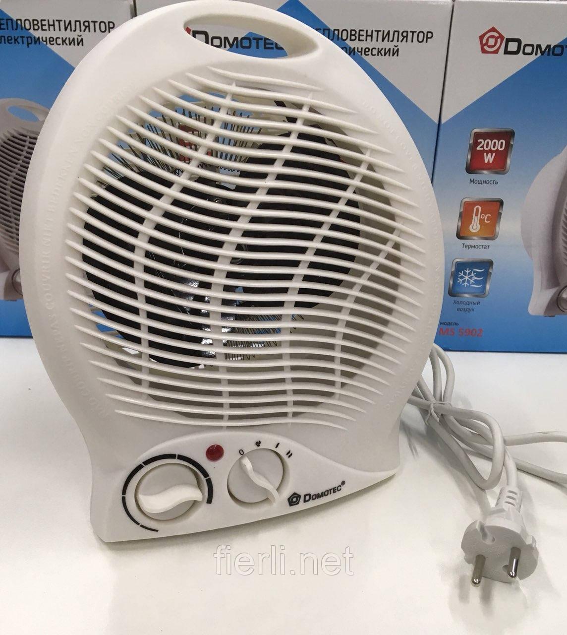 Тепловентилятор  (обогреватель) Domotec MS 5902 (2000W)
