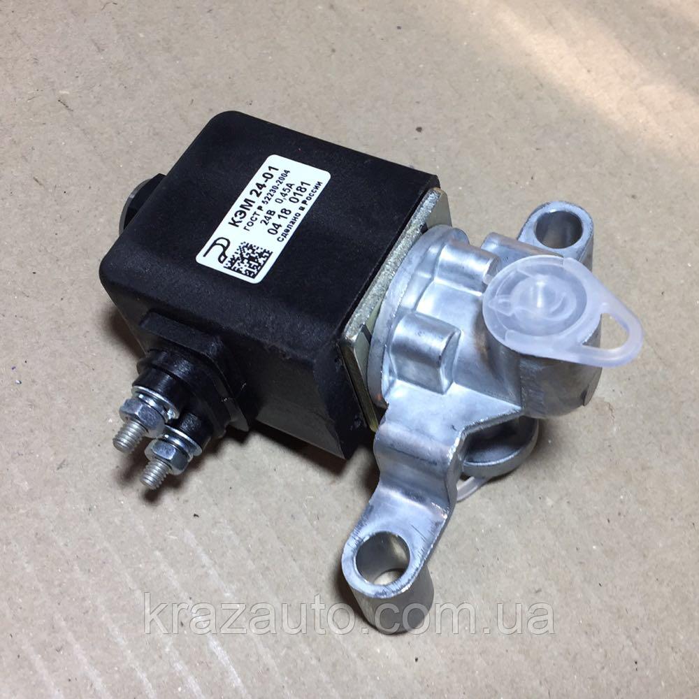 Клапан электромагнитный МАЗ КПП (блокировки демультипликатора) 238ВМ (239.1708200) КЭМ 24-01