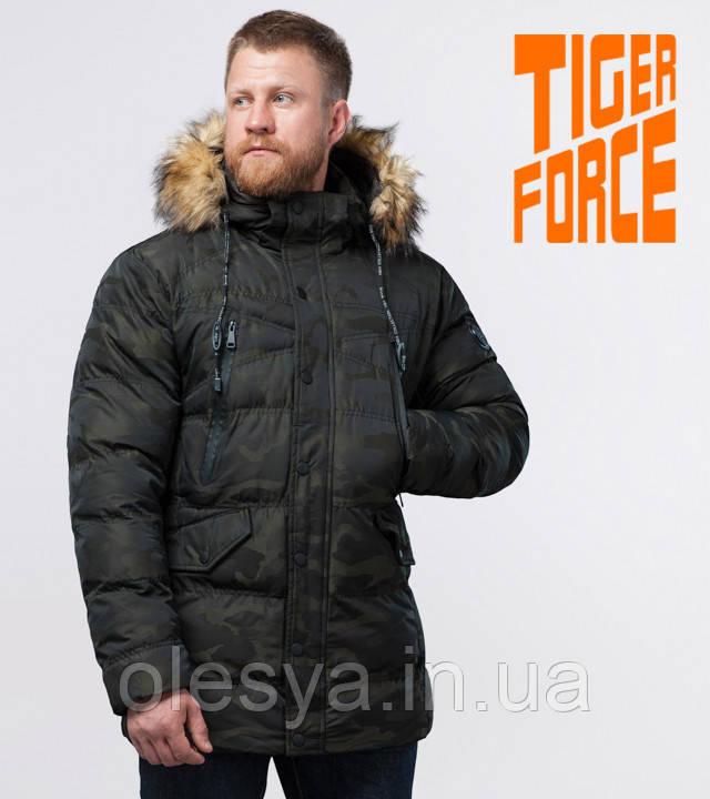 Tiger Force 76029 | Зимняя куртка темно-зеленая