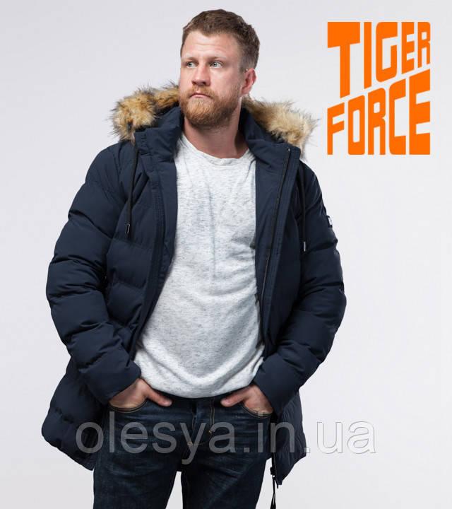 Tiger Force 74560 | Куртка с меховой опушкой синяя