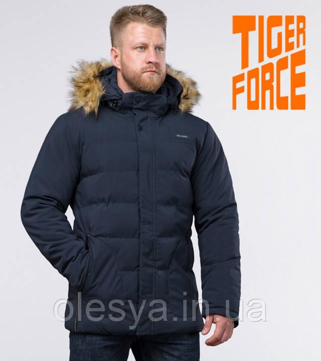 Tiger Force 59249   Куртка зимняя с опушкой темно-синяя