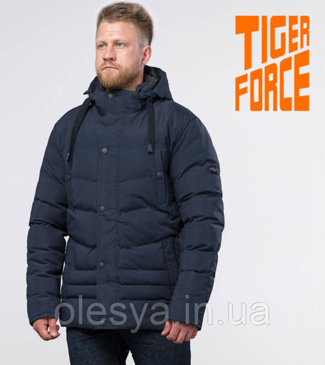 Tiger Force 52235 | Зимняя мужская куртка синяя