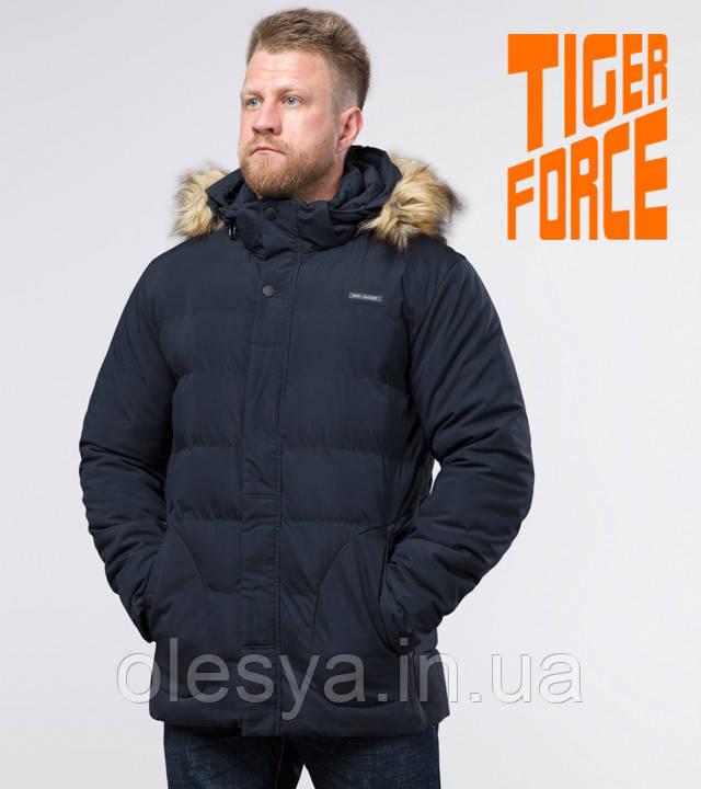 Tiger Force 59249   Мужская куртка на зиму синяя