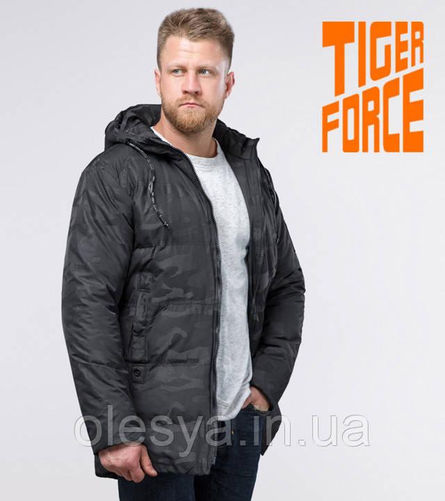 Tiger Force 59910 | Мужская зимняя куртка черная