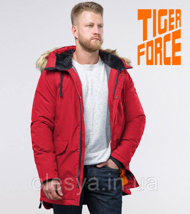 Tiger Force 76447 | Мужская зимняя парка красная