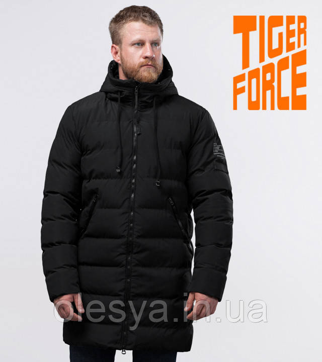 Tiger Force 54386   Теплая мужская куртка черная
