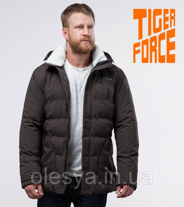 Tiger Force 70292 | Мужская фирменная куртка кофе