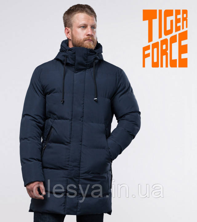Tiger Force 56460 | Куртка мужская на зиму синяя