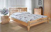 Деревянная кровать Пальмира люкс плюс 140х190 см. Meblikoff