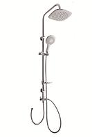 Душевой гарнитур с верхним душем Invena Elea AU-82-001 хром