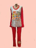 Пижамка трикотажная с брюками