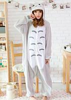 Пижама кигуруми Тоторо серый K0019